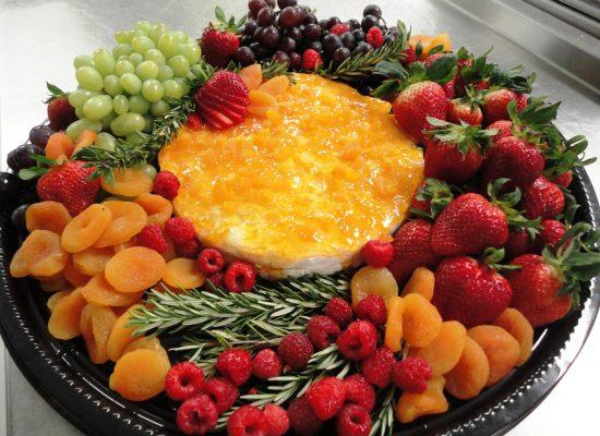 Apricot Glazed Brie
